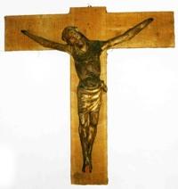 Kruzifix-lindenholz